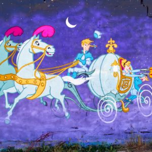 Gicleé print - Cinderella Drive by